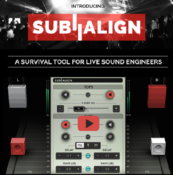 waves introduce sub align plugin a survival tools for live sound engineers the pro tools pc. Black Bedroom Furniture Sets. Home Design Ideas