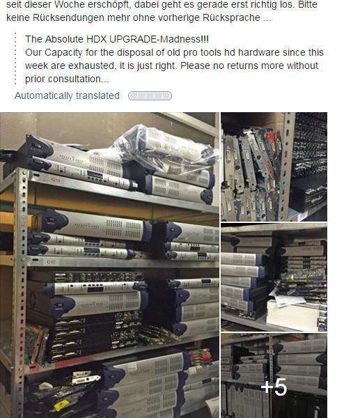 TDM Hardware Upgrades
