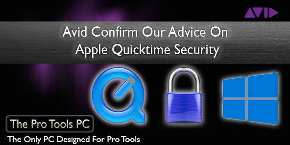 Avid Confirm Our Quicktime Security Advice