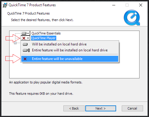 Quicktime Install 3