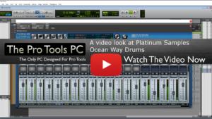 Platinum Samples Ocean Way Drums video