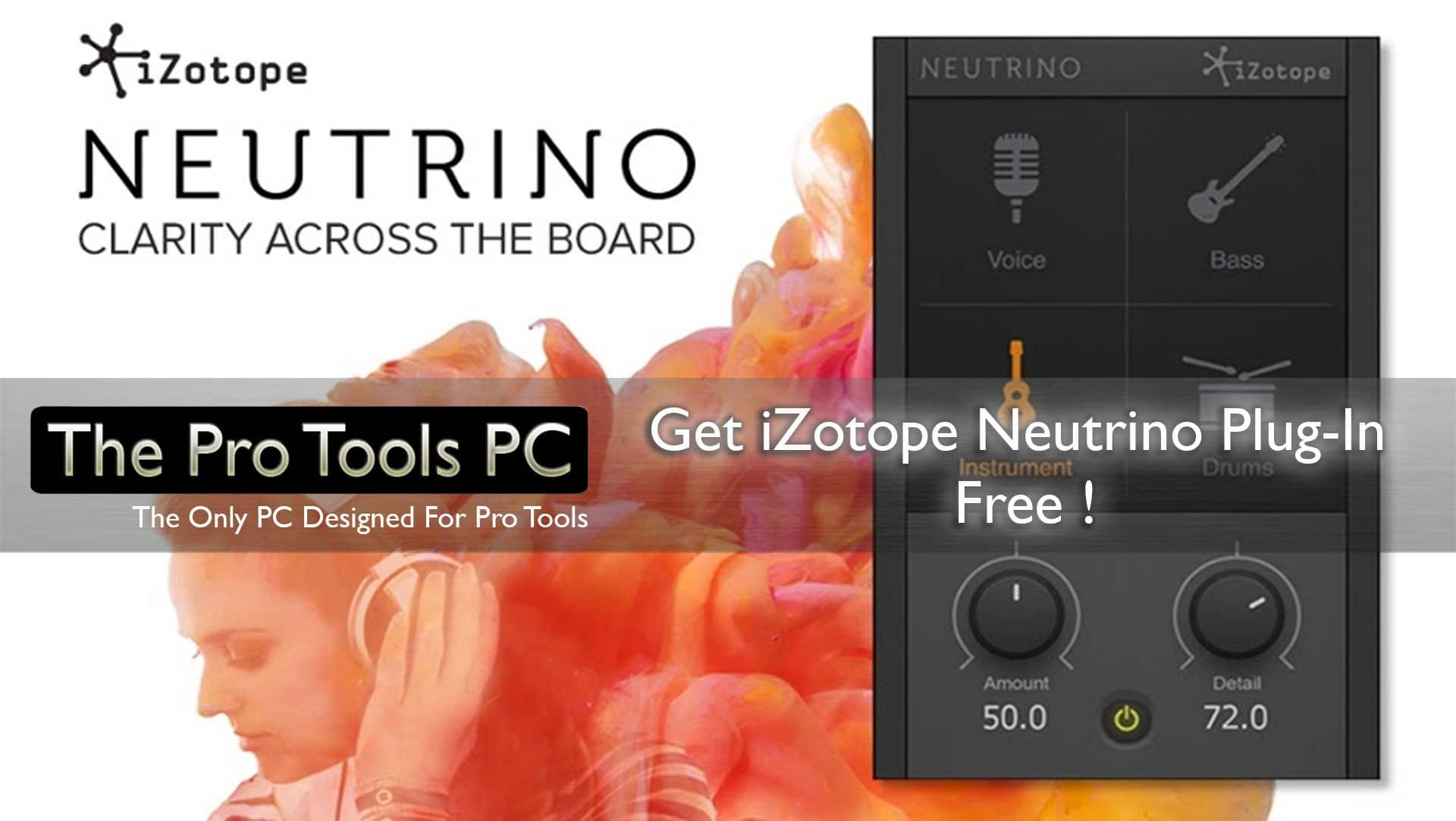 izotope neutrino free