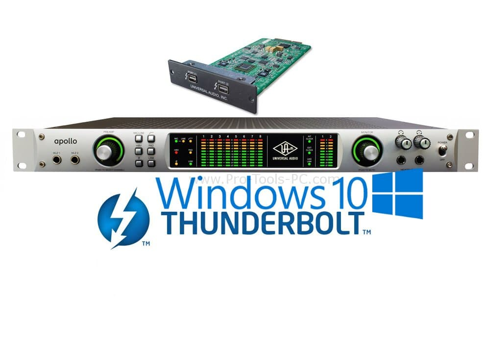 UAD Thunderbolt Windows