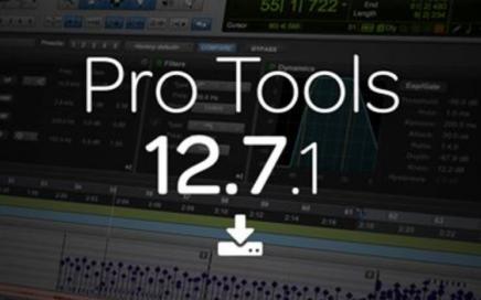 Pro Tools 12.7.1