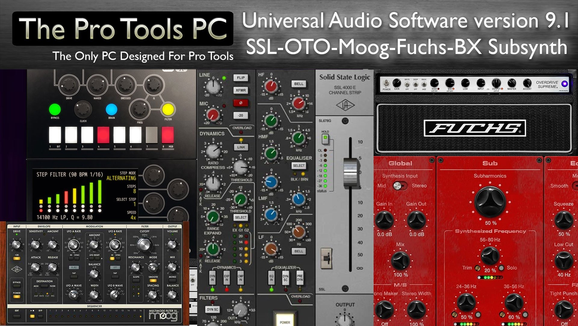 Universal Audio Announce UAD 9 1 Software & Plug-Ins - The