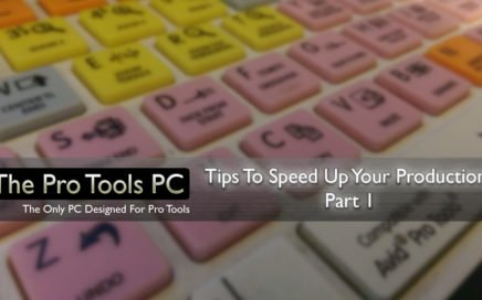 Tips To Speed Up Your Productions - Part 1