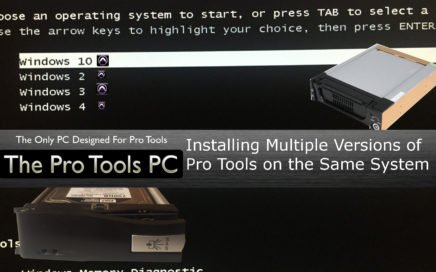 Installing Multiple Versions of Pro Tools on the Same System